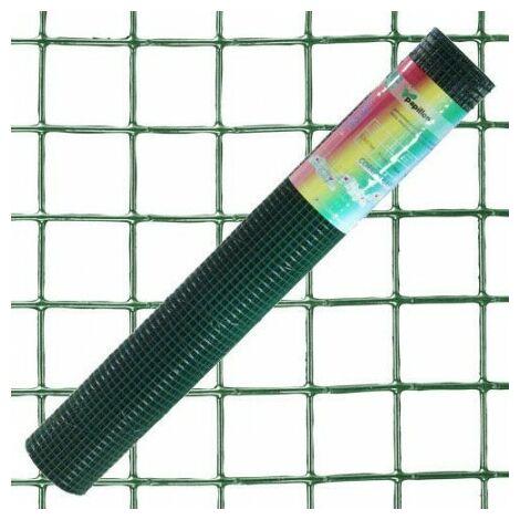 Grillage plastifié corral 13x13 / 80 cm. rouleau 10 mètres.