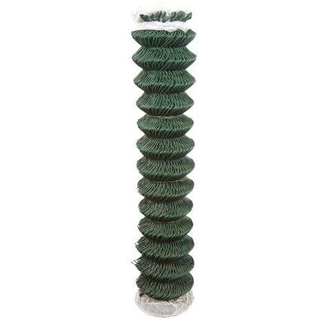 Grillage plastifie vert simple torsion compacte maille 50 x 50 mm 2 25