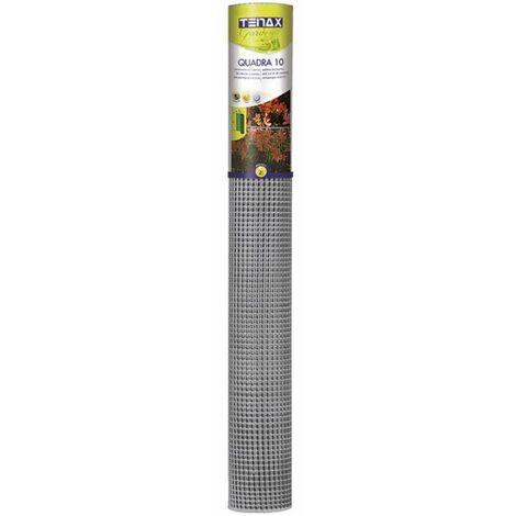 Grillage plastique gris Tenax Taille 0.5 x 5 m - Gris