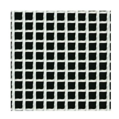 Grillage plastique maille carrée h. 1 x l. 3 m vert 5 x 5