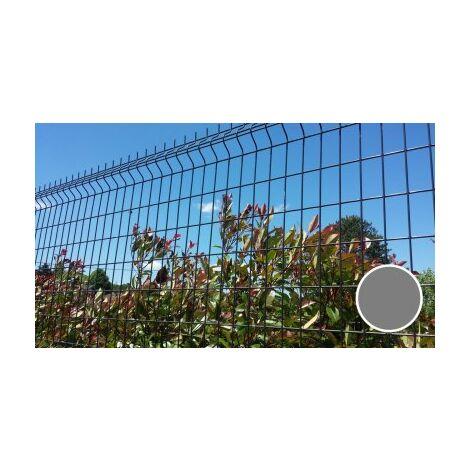 Grillage Rigide Gris - JARDIPREMIUM - Fil 4/5mm - 1.23 mètre
