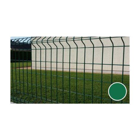 Grillage Rigide Vert - JARDIMALIN - Fil 4mm - 1,23 mètre