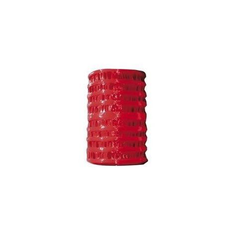 Rouleau de grillage avertisseur rouge - 25 mètres