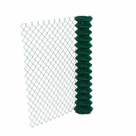 """main image of """"Grillage rouleau simple torsion vert, Rouleau 20m, Hauteur 1m20, Maille 50x50mm"""""""