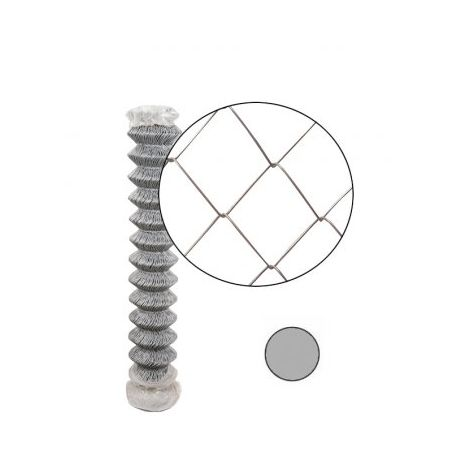 Grillage Simple Torsion Galvanisé - Maille 50 x 50mm - Fil 2mm - 1,2 mètre