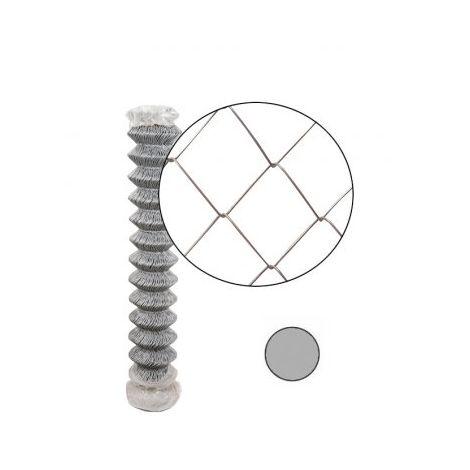 Grillage Simple Torsion Galvanisé - Maille 50 x 50mm - Fil 2mm - 1,75 mètre