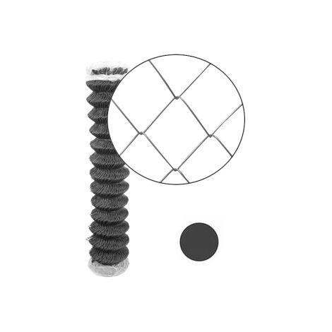 Grillage Simple Torsion Gris - Maille 50 x 50mm - Fil 2,4mm - 1,75 mètre