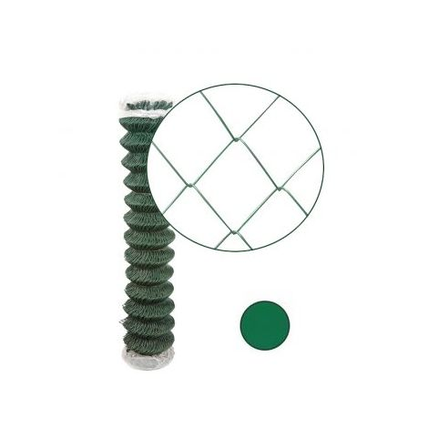 Grillage Simple Torsion Vert - Maille 50 x 50mm - Fil 2,4mm - 1,2 mètre