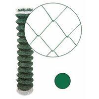 Grillage Simple Torsion Vert - Maille 50 x 50mm - Fil 2,4mm - 1,75 mètre