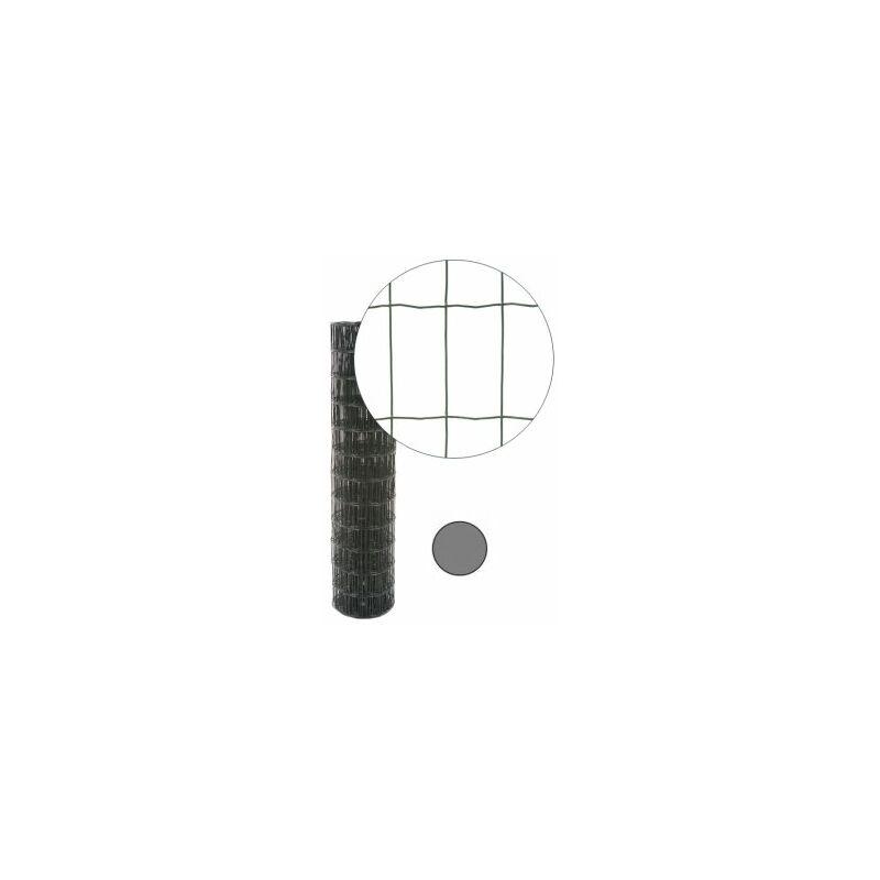 grillage soud gris anthracite maille 100 x 50mm 0 6. Black Bedroom Furniture Sets. Home Design Ideas