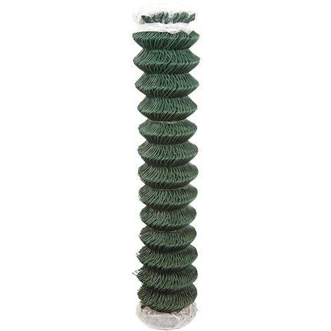 Grillage vert simple torsion plastifié - 1,5x25 m - Cavatorta