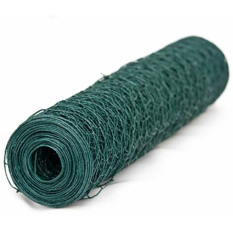 Grillage vert Windhager mailles 13mm 0,5x2,5m