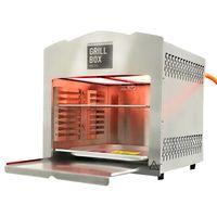 Grillbox Oberhitze Gasgrill GrillBox 880XL - Premium Steakgrill aus Edelstahl für perfekten Fle MATRIX_350100050