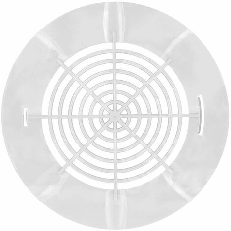 Grille à clips de bonde de fond AQUAREVA BL311 BB310 blanche