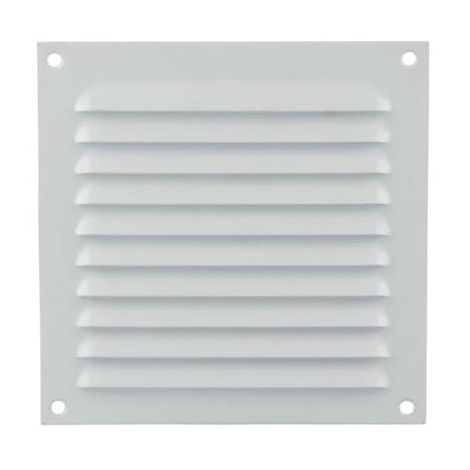 """main image of """"Grille à persienne 436 RENSON 400 x 400 mm - Blanc - 44004006"""""""