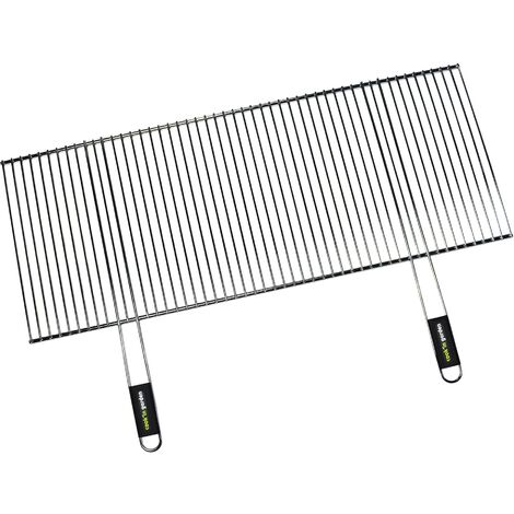 """main image of """"Grille Acier Recoupable Pour Barbecue Charbon - Cook'in Garden - Grille recoupable rectangulaire - Universel - 100 x 40 cm"""""""