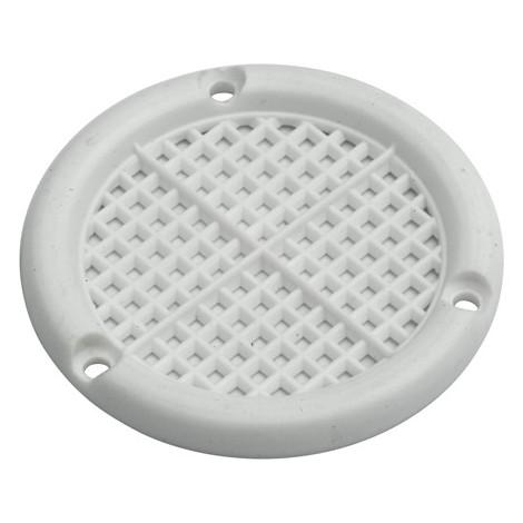 Grille aération 45 mm blanc