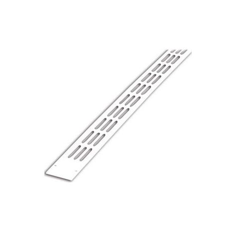 Grille Aération Aluminium Plate K 20 mm x  375 mm