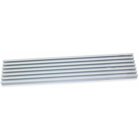 Grille aération pour four à encastrer en aluminium anodisé mat