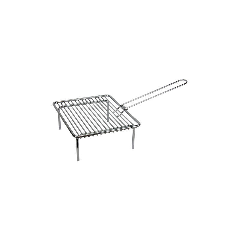 Lot de 2 poignées en bois pour grille de barbecue: