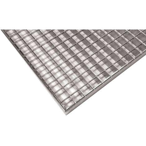 grille caillebotis industrielle maille 30/30 galvanisé 1000x400x30mm