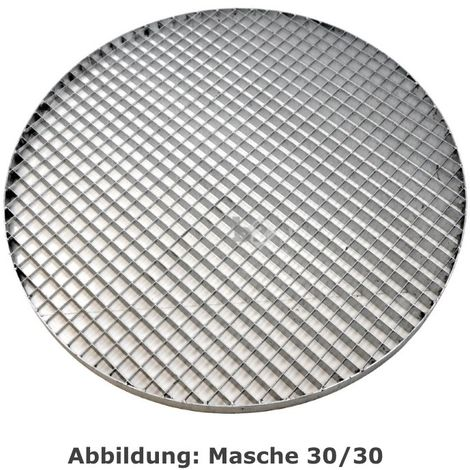 grille caillebotis rond galvanisé maille 30/10, Ø 800mm