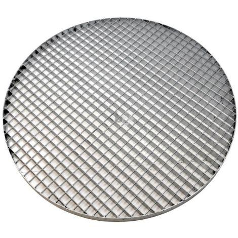 grille caillebotis rond galvanisé maille 30/30, Ø 800mm