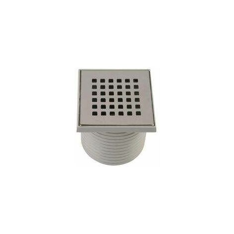 """main image of """"Grille carrée 107x107mm + support pour isotanche"""""""