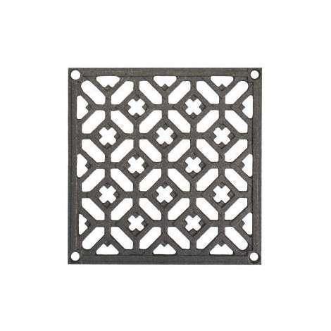 Grille carrée en fonte ROLLINGER 15x15 cm - 228
