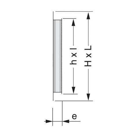 Grille d'aération horizontale - Girpi