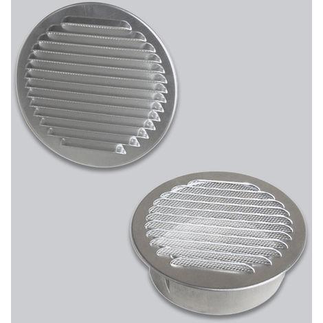 Grille d'air ronde en Aluminium