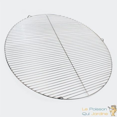 Grille De Barbecue De Remplacement Ronde En Inox : Diamètre 80 cm