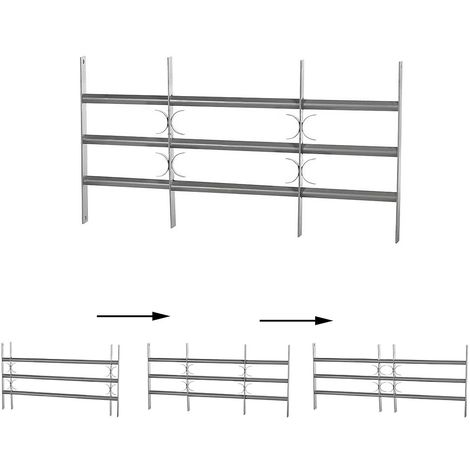Grille de fenêtre Protection anti-effraction Rampe de balcon Protection