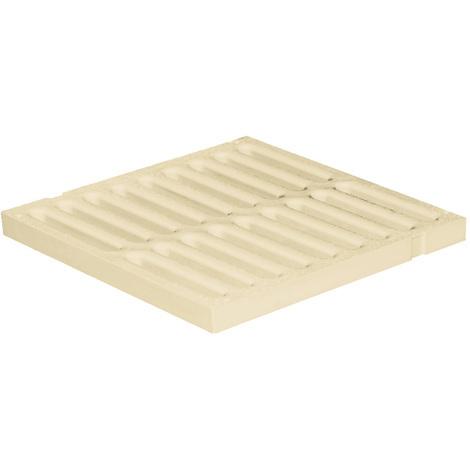 Grille de sol PVC légère anti-choc - Gris ou Sable