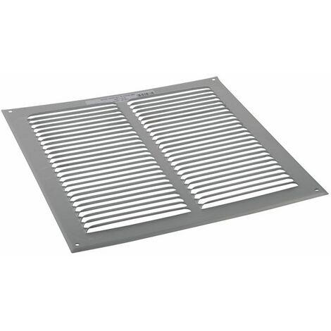 Grille de ventilation aluminium brut 250x250 - ANJOS : 6807