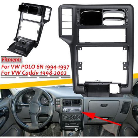 Grille de ventilation ca de Console centrale intérieure de voiture pour VW pour Polo 6N 1994-1997 pour VW Caddy 1998-2002 6N1858071A (uniquement pour conduite à gauche)