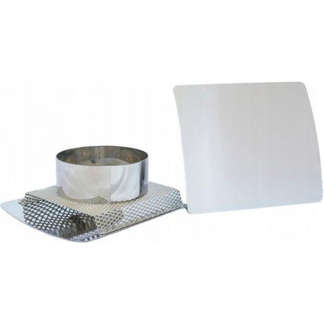 Grille de ventilation convexe en acier inoxydable
