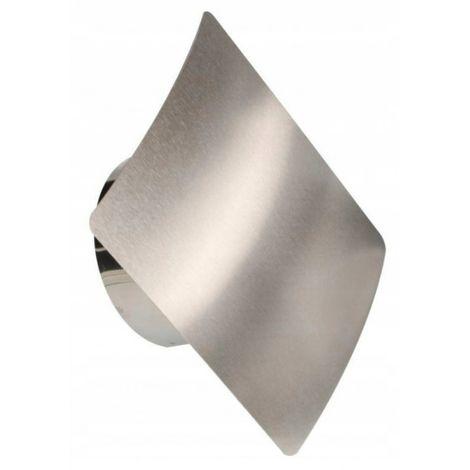 Grille de ventilation convexe en inox 100 inox