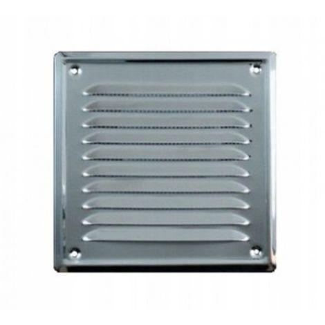 Grille de ventilation en acier inoxydable avec mai