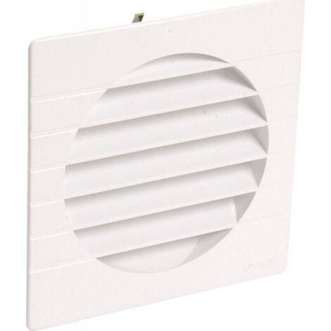 Grille de ventilation extérieures coloris sable Ø 80 mm - spéciale façade - GETM pour tubes PVC et gaines