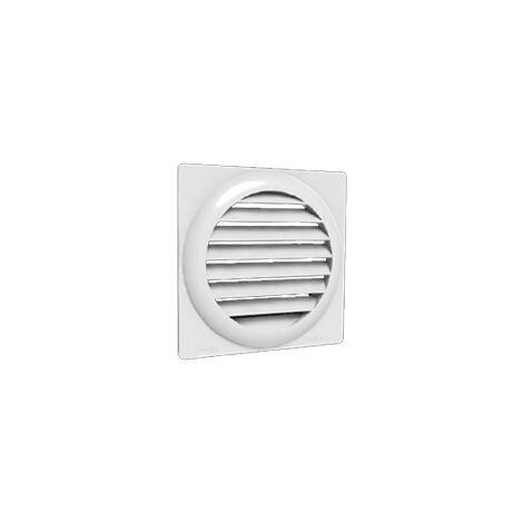 Grille de ventilation plastique à auvent GAE