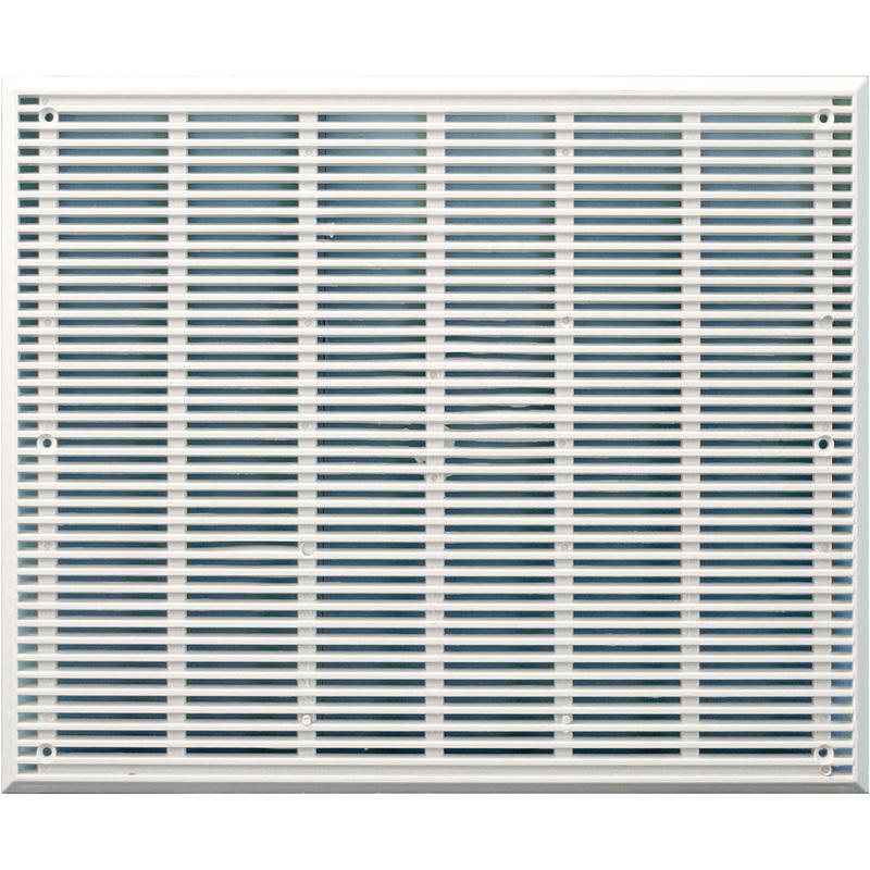 Grille De Ventilation Pvc 220x180mm Extra Plate 5mm