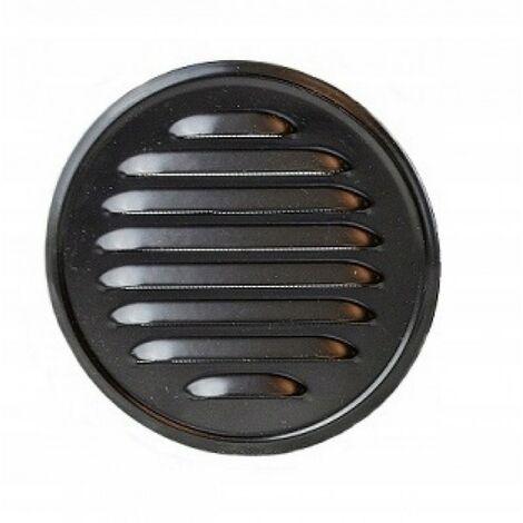 Grille de ventilation ronde avec tuyau de raccorde