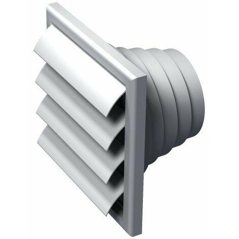 Grille de ventilation volet anti-retour VPA 186x186mm