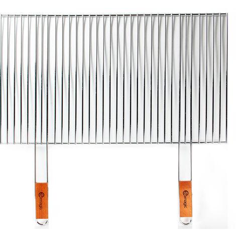 Grille découpable pour barbecue 70 x 40 cm - Somagic
