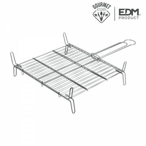 Grille double 45x45cm edm