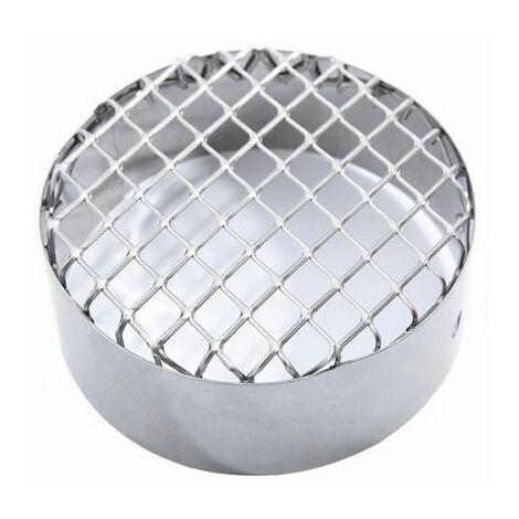grille en acier inoxydable d 'aspiration D. 80 mm.