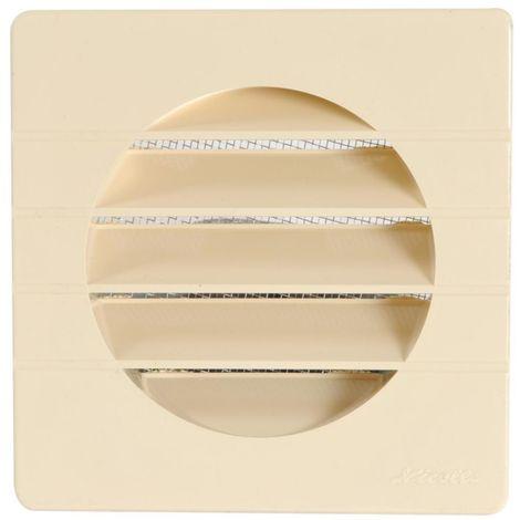 Grille extérieure pour tube PVC Ø100 sable moustiquaire
