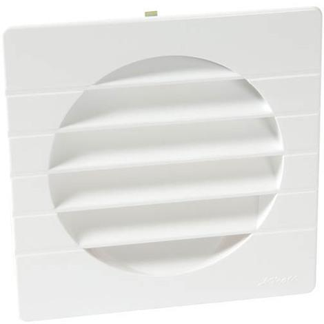 Grille extérieure pour tube PVC O160 blanc