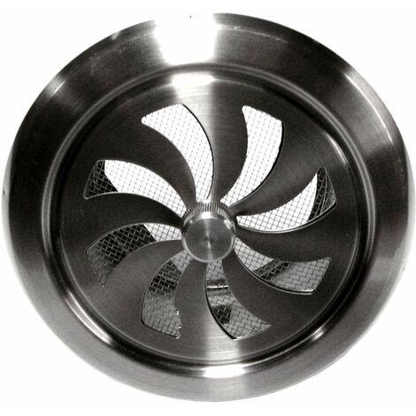 Grille inox réglable DMO - Ronde - Diamètre 100 mm - Argentè